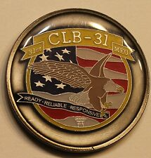 Combat Logistic Battalion 31 Marine Expeditionary Unit Marine Challenge Coin
