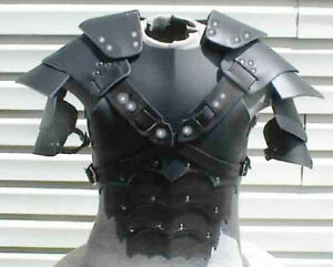 Leather Medieval Armour viking Celtic theatrical LARP SCA costume fancy