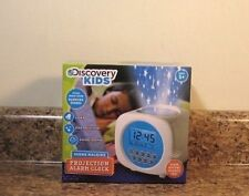 Discovery Kids Sound Machine Projection Alarm Clock Nature Sounds NEW