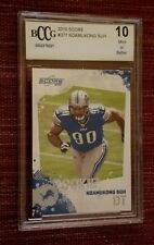 2010 Score Ndamukong Suh #377 Detroit Lions Rookie Football Card BCCG 10 Mint