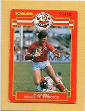 1986 SCANLENS RUGBY LEAGUE-#55-BRIAN HETHERINGTON