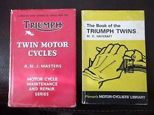 2 X TRIUMPH VINTAGE BOOKS 1960'S