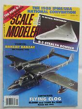 SCALE MODELER 1/89 DAUNTLESS F-40 NAKAJIMA TENZAN BLOHM VOSS BV-138 SKYHAWK B-2