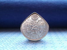 Genuine UK Sixpence Coin PICK/Elettrico/Chitarra Acustica. * Brian. * Regina MAY * F P