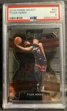 2019-20 Select Tyler Herro Concourse Rookie RC #63 PSA 9 MINT Heat