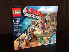 The LEGO Movie Emmet Getaway Cowboy Glider Sheriff Droid Minfigures Cowboy 70800