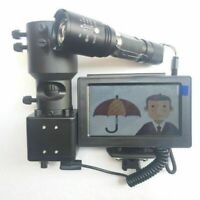 DIY Rifle Night Vision Scope With CCD & Flashlight Fr Riflescope 850nm IR Torch