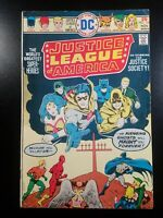 JUSTICE LEAGUE OF AMERICA #124 FIRST APPEARANCE EARTH PRIME 1975
