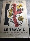 Fernand Leger Lithograph LE TRAVAIL Original MUSEE DE ART MODERNE PARIS 1951