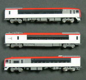 92051 Tomix N'EX N Gauge J.R. EC LTD. Express Series 253 JR253 3 Car Set in Case