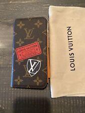 Louis Vuitton Iphone X XS Case Folio Limited Edition World Tour