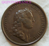 MED6554 - MEDAILLE LOUIS XIV 1656 PRISE DE VALENCE (ITALIE)
