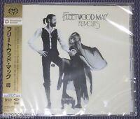 "FLEETWOOD MAC ""RUMOURS"" JAPAN HYBRID SACD DSD MULTI-CH 2011 *SEALED*"