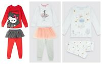 New Girls TuTu Pyjama Set  Ex M&S Age 18-24 Months 2-4 Years RRP £16