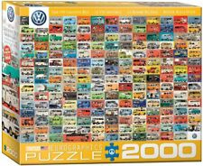 VW Groovy Bus 2000 piece jigsaw puzzle 965mm x 685mm (pz)