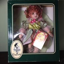 Amelia Porcelain Doll Fairy Tale Series by Geppeddo New in Box