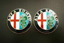 2 Fregio Stemma Logo Emblema Anteriore Alfa Romeo GTV 147 156 159 146 Mito