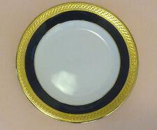 MUIRFIELD Bread Plate Royal Blue Border Gold Rim 9407 REGENCY - Marked