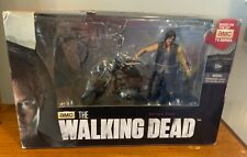 McFarlane Toys Walking Dead Daryl Dixon With Chopper Figure. Deluxe Boxed Set