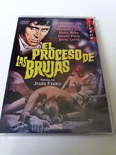 "DVD ""IL PROCESSO DELLE BRUGES"" JESUS JESS FRANCO RIFUGI DEL CHRISTOPHER"