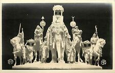 """1915 Real Photo Pc; San Francisco Ca Ppie Expo Statue """"Nations of the East"""""""