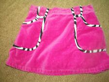 Euc! Girls Gymboree Wild One Animal Print Zebra Lined Skirt Pink Size 4T