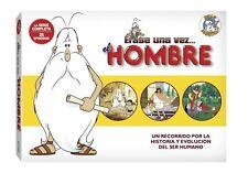ERASE UNA VEZ EL HOMBRE SERIE COMPLETA 5 DVD NUEVO ( SIN ABRIR )