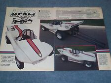1986 Aero Buggy Kit Car Article Unique Components Drag Buggy