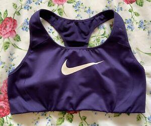 Nike Purple Racerback Sports Bra - Size M