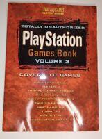PlayStation Book Brady Strategy Guide Volume 3 Rare 1996 Games Crash Bandicoot