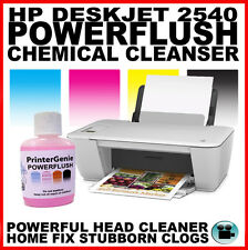 HP DESKJET 2540 STAMPANTE HEAD CLEANER: UGELLO CLEANSER & Printhead unblocker
