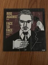 RISE AGAINST / FACE TO FACE SPLIT CLEAR WAX /2000 NM UNPLAYED