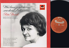 VERY RARE AUDIOPHILE RITA STREICH FIRST PRESSING POLYDOR STEREO LP