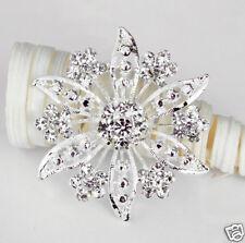 Rhinestone Crystal Brooch Pin Wedding Cake Decoration