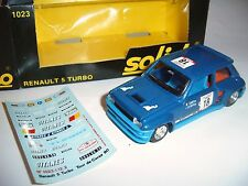 Renault R 5 r5 turbo Rally Tour de Corse saby Tilber #18 solido 1023 1:43 Boxed