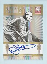 JOHN DAVIDSON JAROSLAV HALAK 2011/12 ELITE PASSING THE TORCH AUTOGRAPH AUTO /100