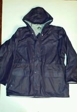 MEN'S XL, PURPLE RAINCOAT, 100% PVC BY TOTES!
