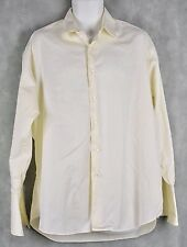 Ike Behar Mens Button Down Dress Size 16 1/2-35 French Cuffs
