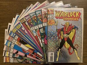 14 Lot The Warlock Chronicles 1-8 & Warlock 1-6 NM FULL Set Marvel Comics Thanos