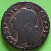 FRANCE SOL LOUIS XVI 1780 PAU