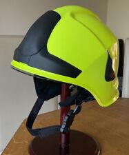 More details for a rosenbauer heros fireman  helmet .