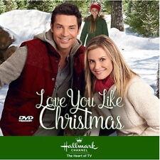 LOVE YOU LIKE CHRISTMAS DVD 2016 HALLMARK TV MOVIE