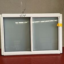 Frosted Aluminium Sliding Window 600h*910 with @ wholesales price white/black