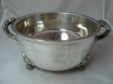 Georgian Old Sheffield Plated Warming Dish Crested By Matthew Boulton A594317