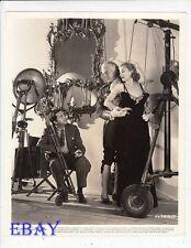 Carole Lombard Director Mervyn LeRoy VINTAGE Ph Fools For Scandal Fernand Gravet