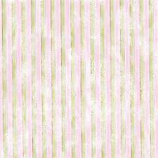 Feltro Decor stampato rigato verde e rosa cm. 30x30