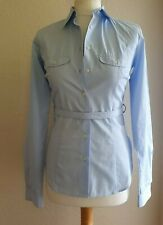 Acne Jeans Light Blue Fitted Cotton Shirt Size S Eur size 36