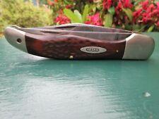 Case XX USA Hunting Knife 6265 SAB 2 Blade Folding Hunter Knife 6265SAB