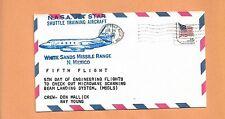 NASA JET STAR STA FIFTH FLIGHT WHITE SANDS MISSILE RANGE APR 24,1979 MALLICK