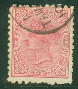 New Zealand. 1895. SSF. 1d. P10x11. U.